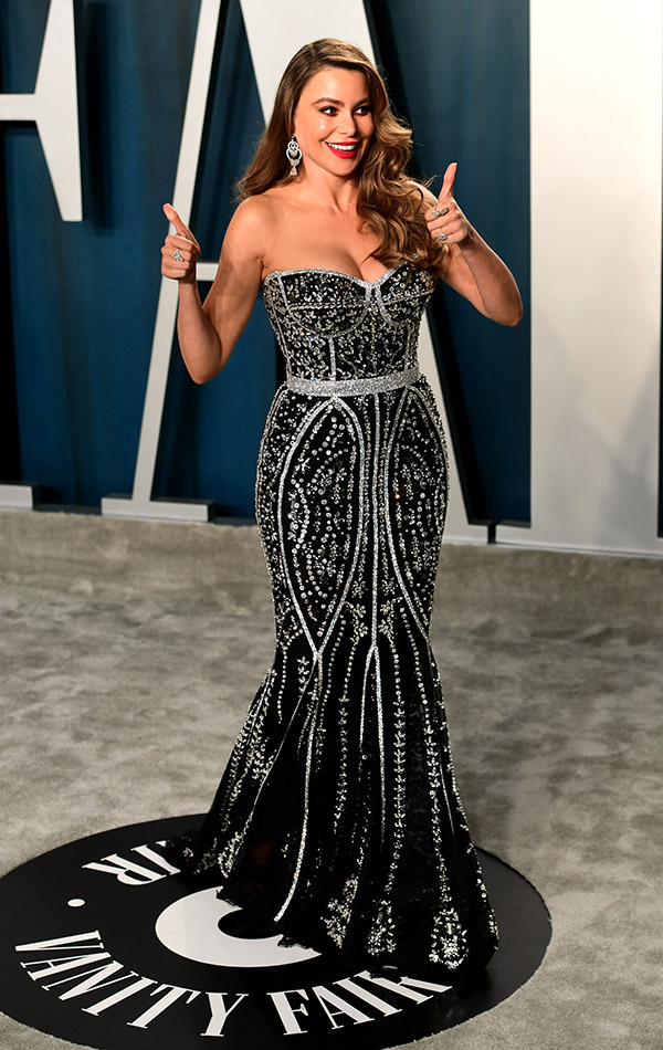 Sofia Vergara en la Vanity Fair Oscar Party 2020