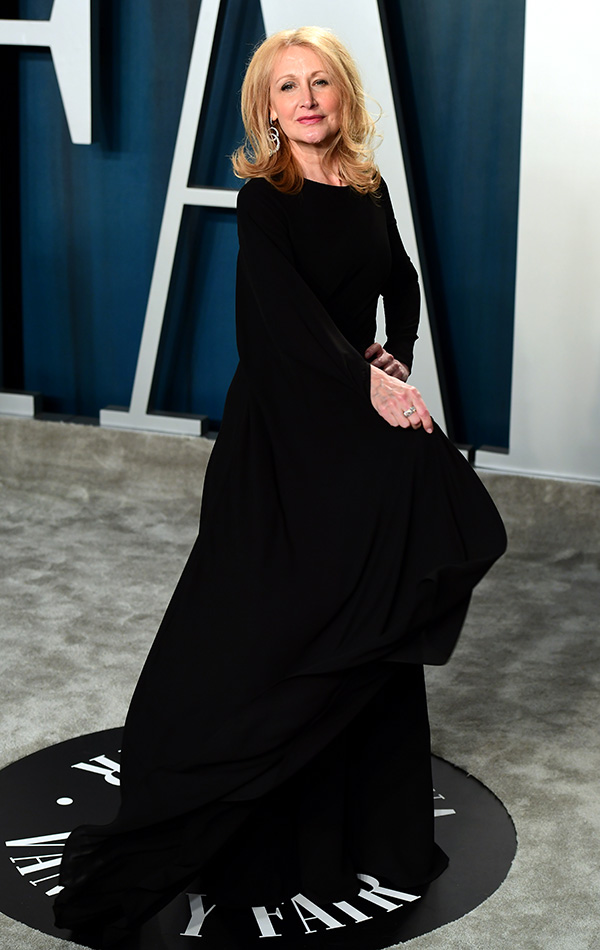Patricia Clarkson en la Vanity Fair Oscar Party 2020
