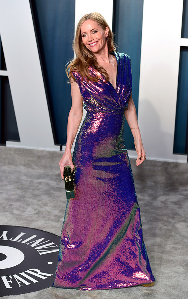 Leslie Mann en la Vanity Fair Oscar Party