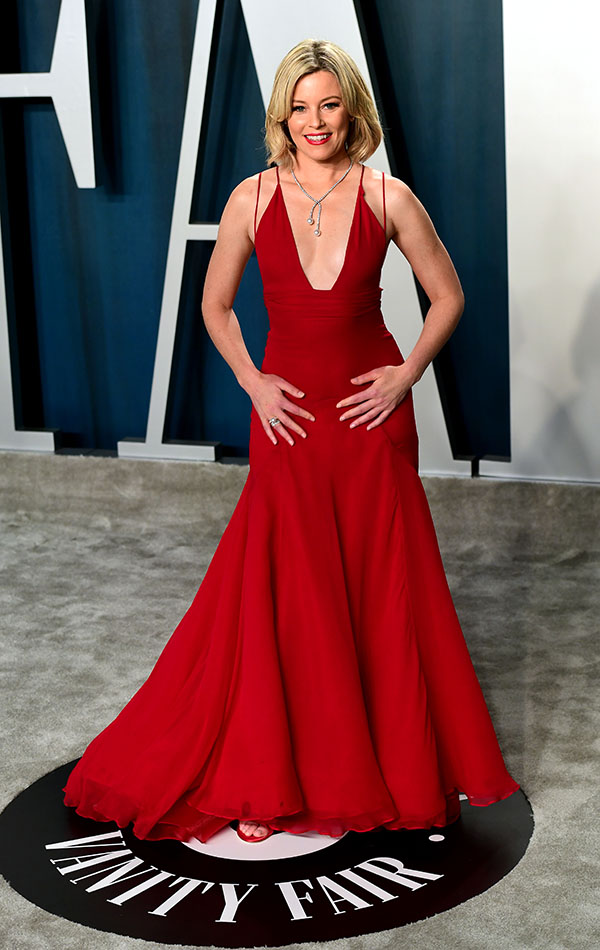 Elizabeth Banks en la Vanity Fair Oscar Party