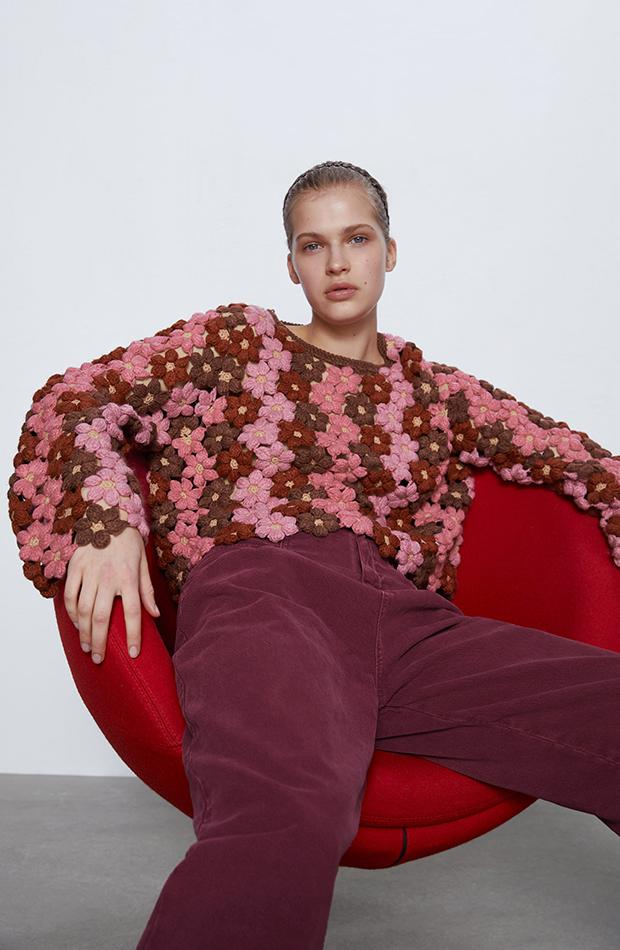 jerseis cortos crochet Zara