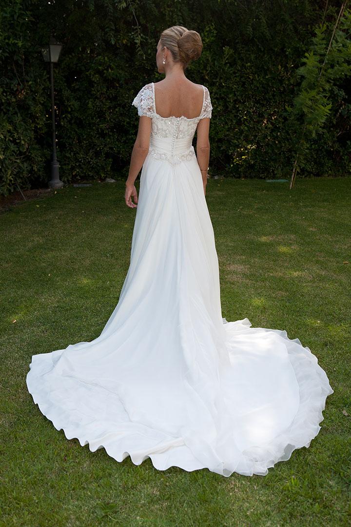 Vestido de novia Jorge Vázquez