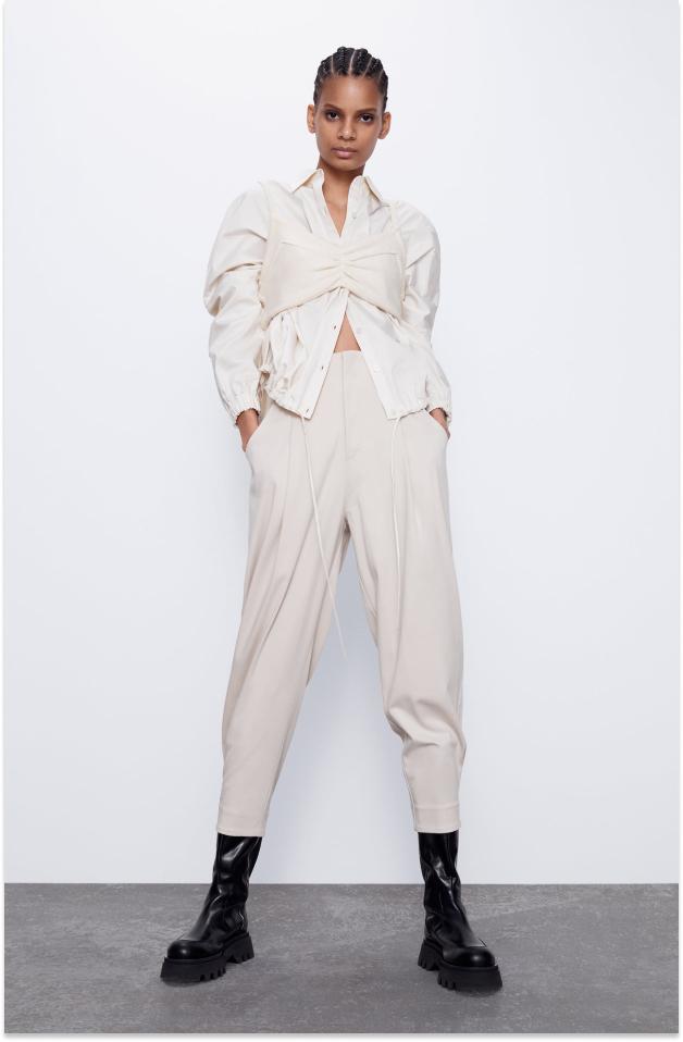 pantalones slouchy