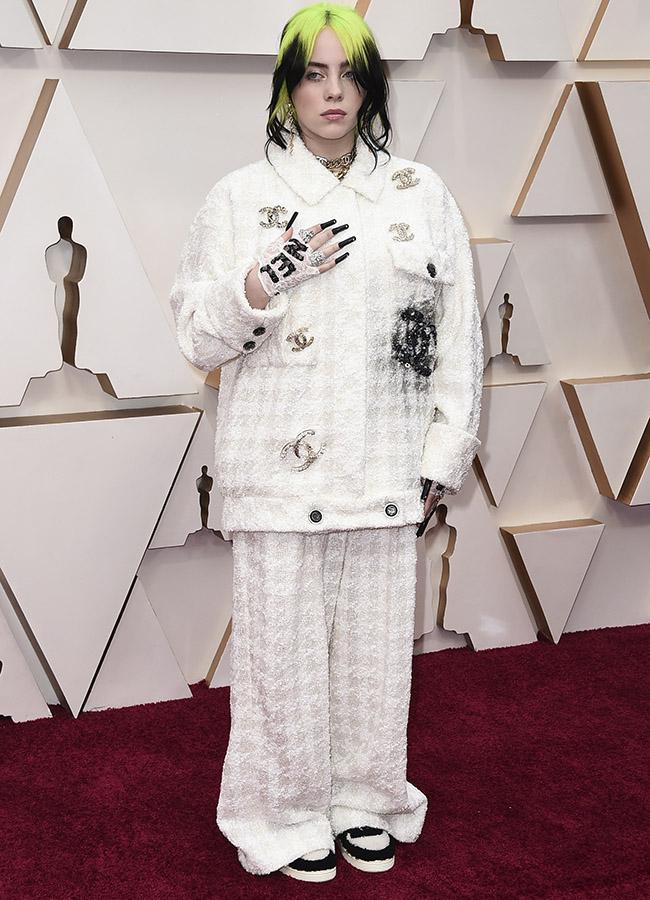 Billie Eilish en los Premios Oscar 2020