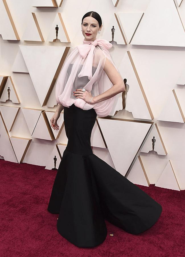 Caitriona Balfe en los Premios Oscar 2020