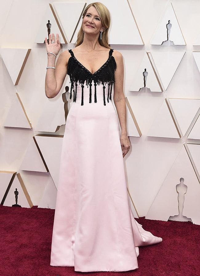 Laura Dern en los Premios Oscar 2020