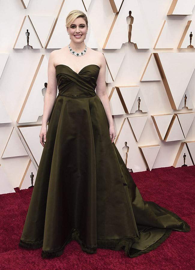 Greta Gerwig en los Premios Oscar 2020
