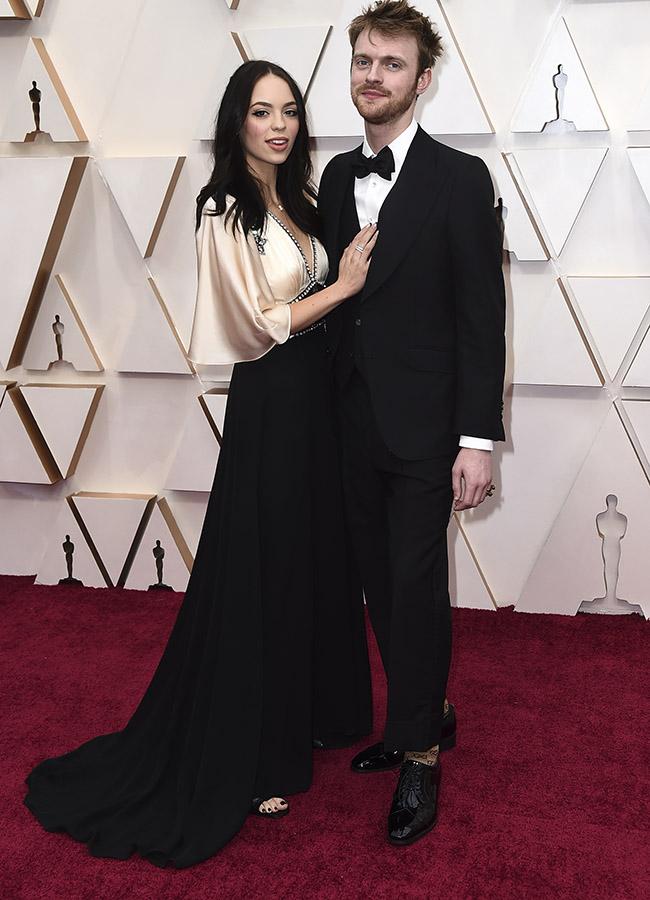 Claudia Sulewski en los Premios Oscar 2020