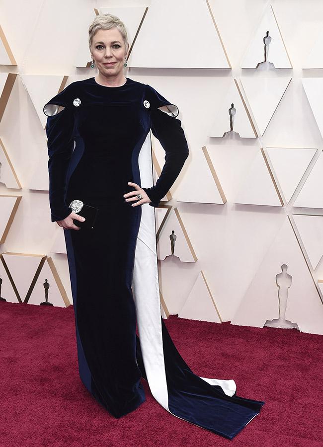 Olivia Colman en los Premios Oscar 2020