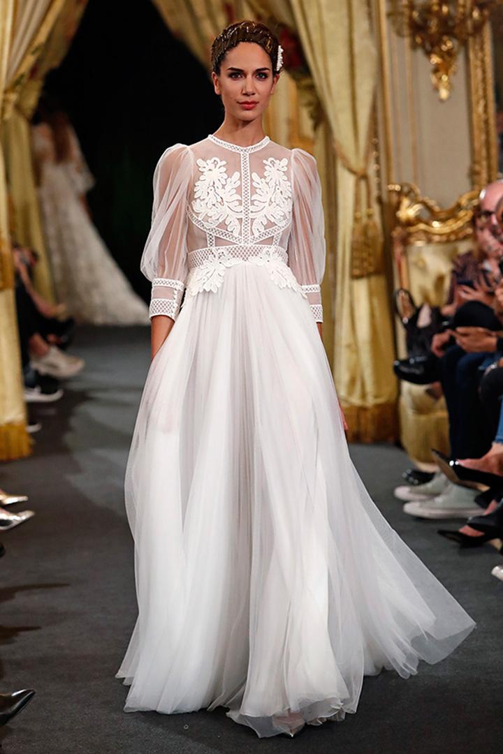 Vestido de novia Santos Costura
