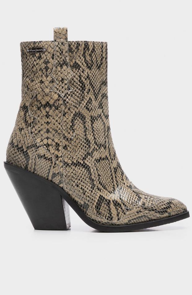 zapatos entretiempo botas serpiente