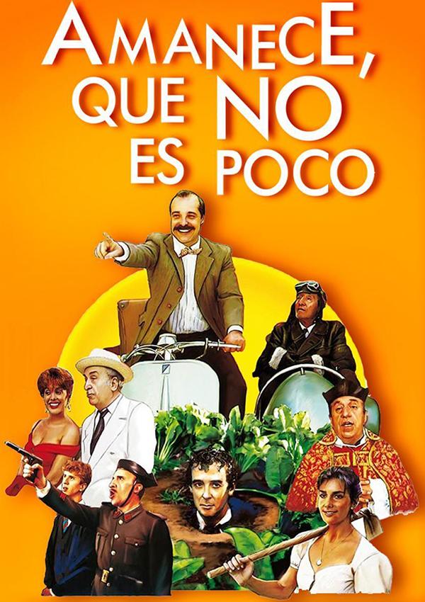 películas españolas Amanece, que no es poco