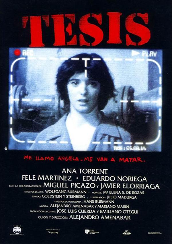 películas españolas Tesis