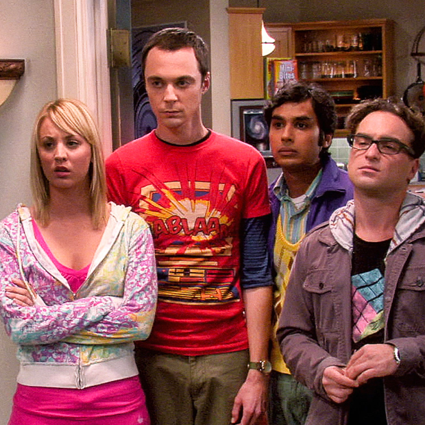 Series de risa The Big Bang Theory