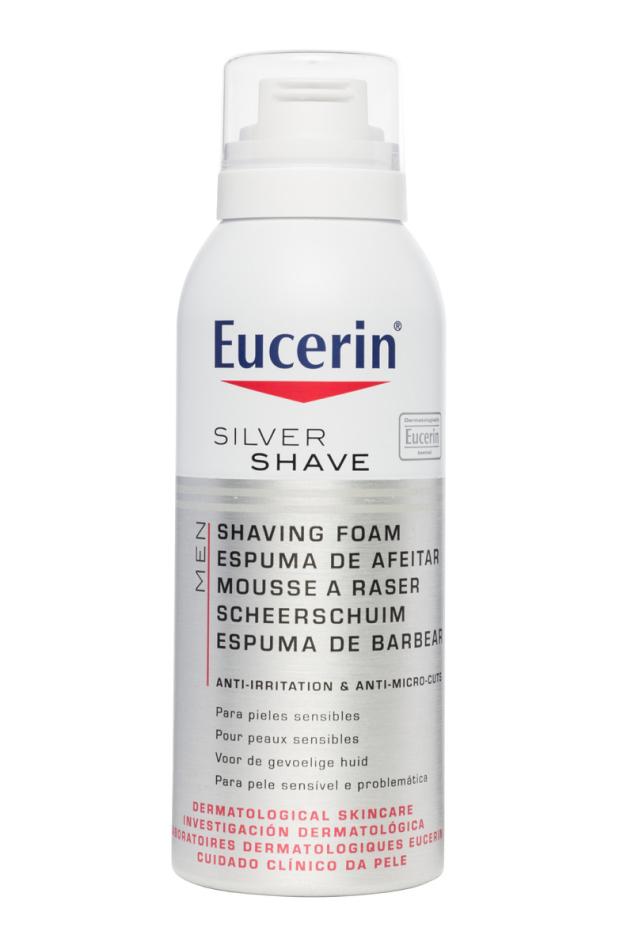 belleza hombre espuma afeitar