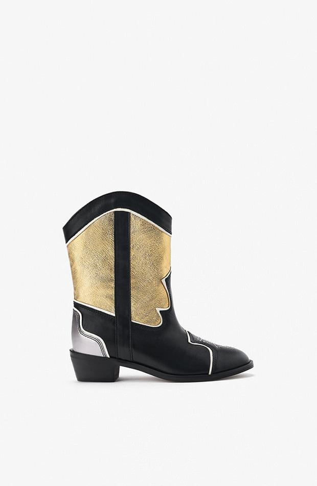 Botín cow-bow colección primavera 2020 a Zara Kids