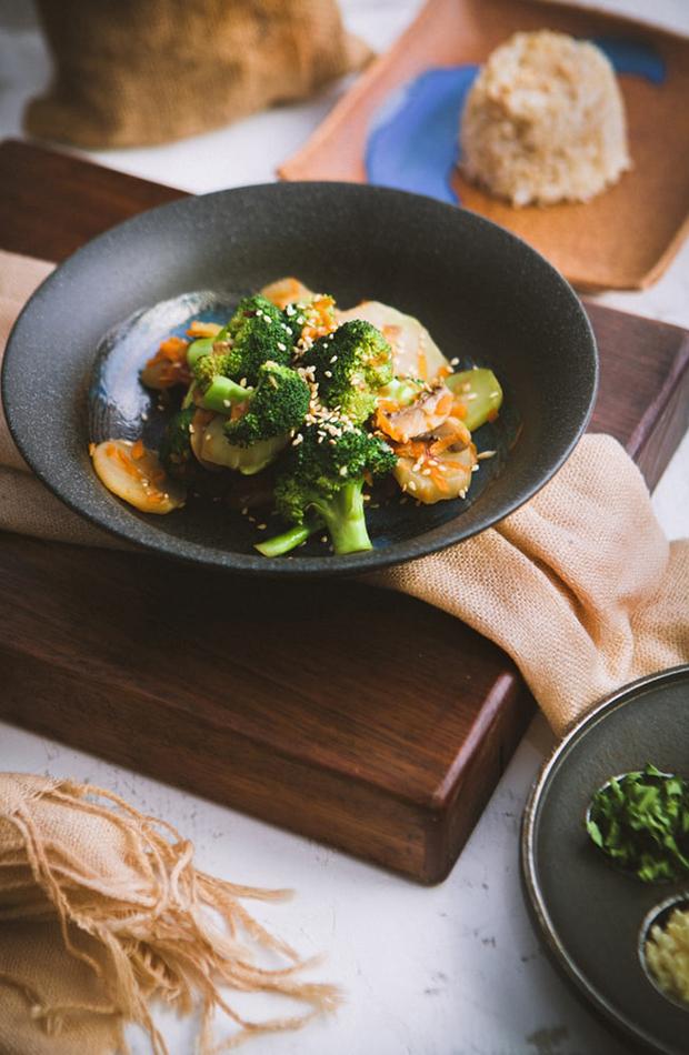 brócoli plátano zanahoria recetas veganas deliciosas