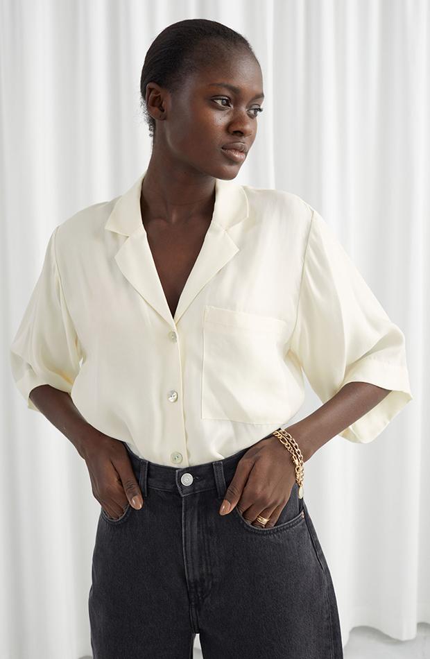 camisa blanca and other stories camisas ideales primavera verano