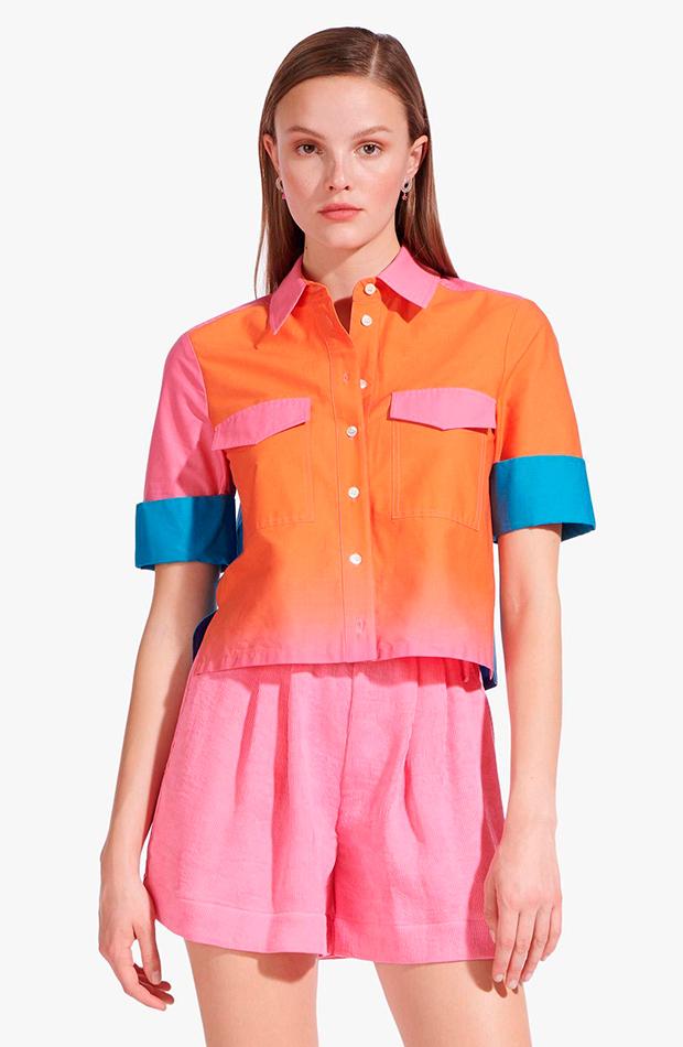 camisa colores staud clothing camisas ideales primavera verano