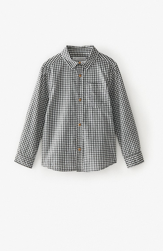 Camisa de cuadros niño colección primavera 2020 Zara Kids