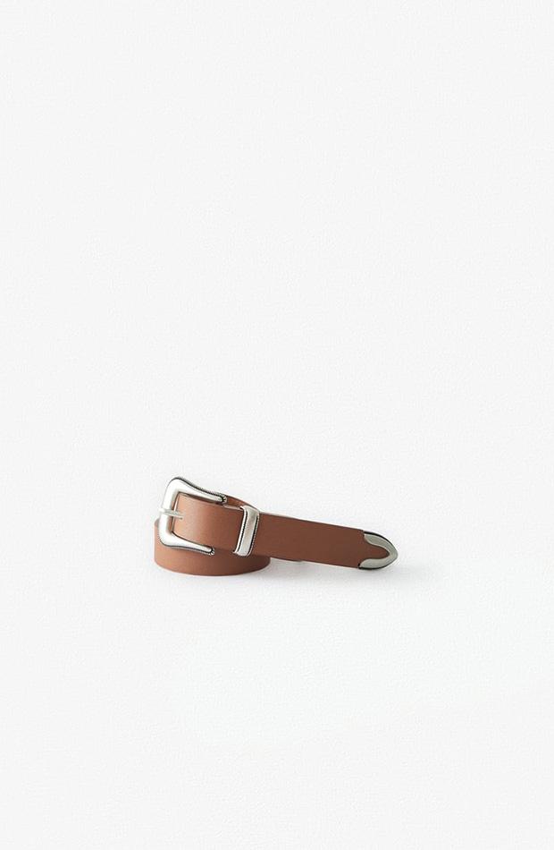 Cinturon hebilla cowboy novedades Zara Kids primavera 2020