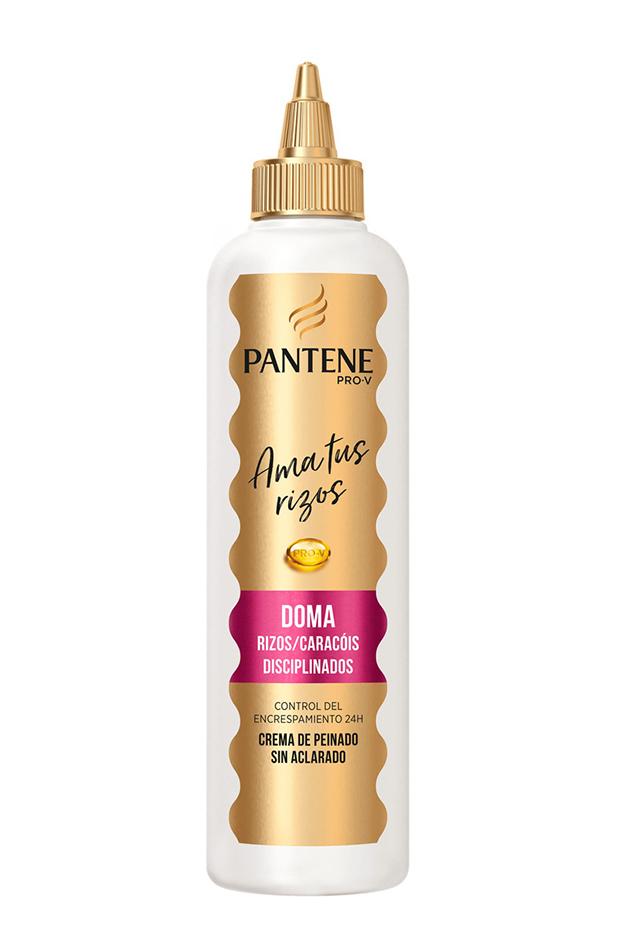 tratamientos para el pelo Crema de peinado sin aclarado Rizos disciplinados Pro-V Pantene