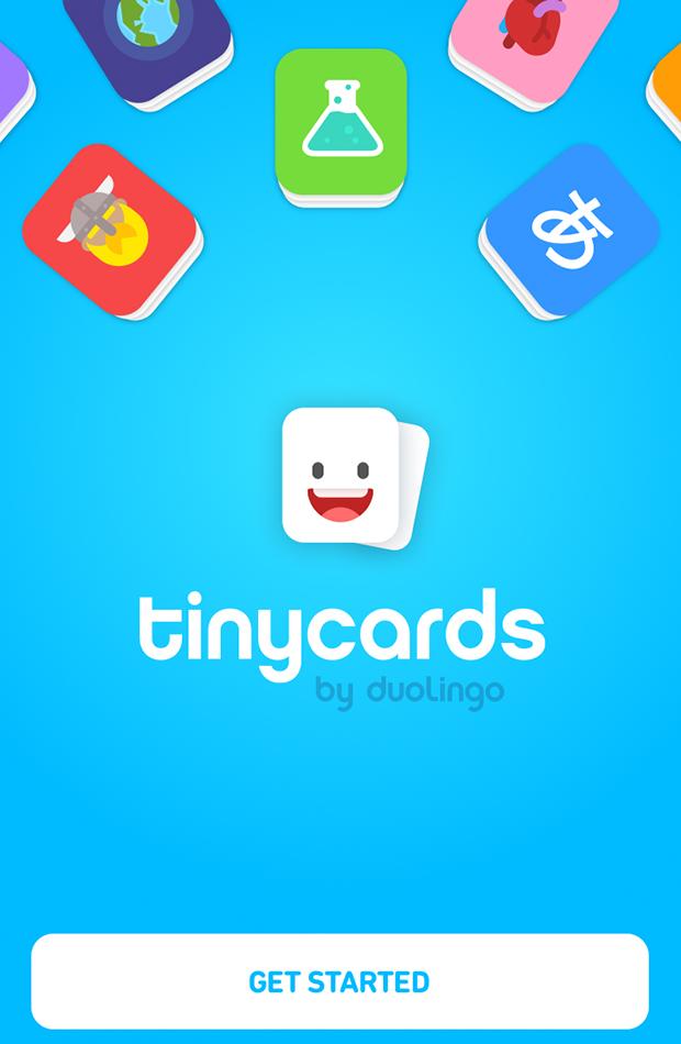 apps para aprender idiomas Tinycards