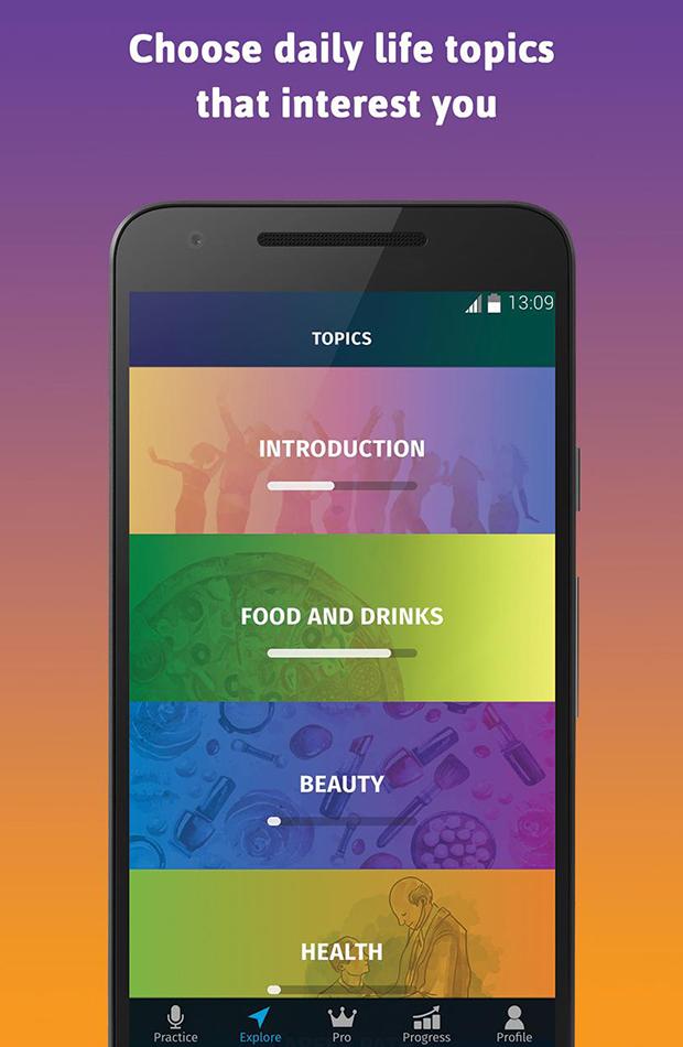 apps para aprender idiomas Elsa