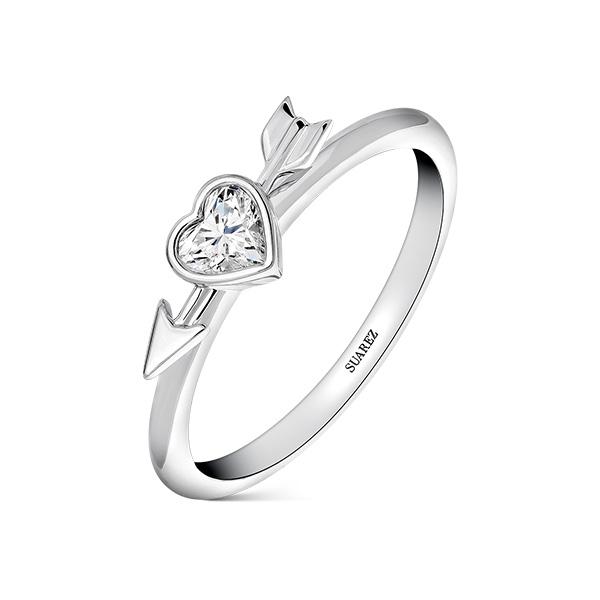 Joyas con diamantes de Suarez: Anillo de Romeo y Julieta