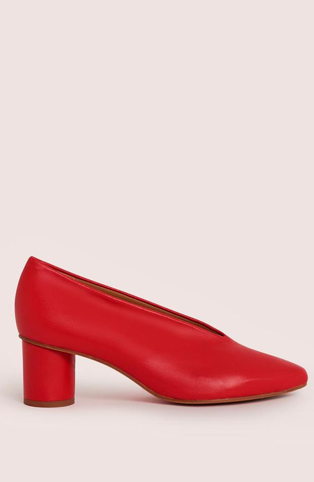 malababa zapato de tacón rojo zapatos de invitada para verano