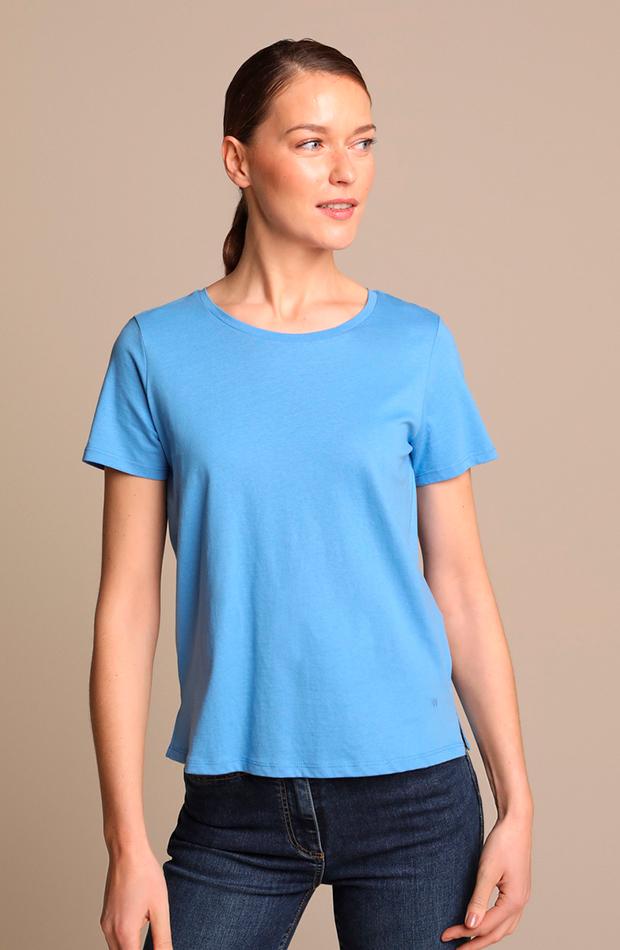más color de el corte inglés camiseta de mujer 100 algodón con manga corta el corte ingles