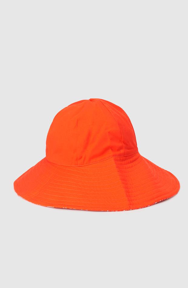 más color de el corte inglés gorro reversible de mujer el corte ingles de algodón en naranja