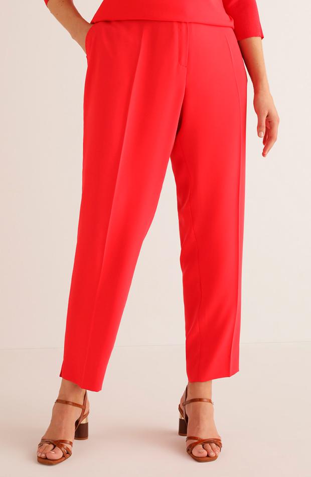 más color de el corte inglés pantalón recto de mujer talla grande con cierre delantero couchel