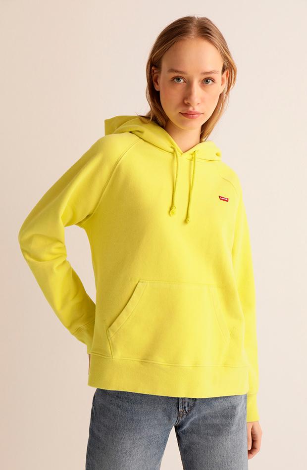 más color de el corte inglés sudadera con logo y capucha de mujer levis