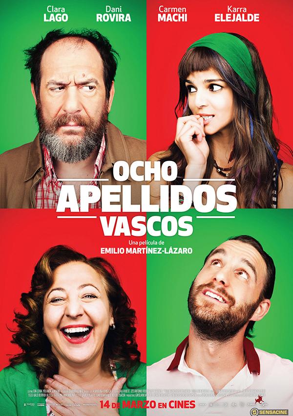 películas españolas Ocho apellidos vascos
