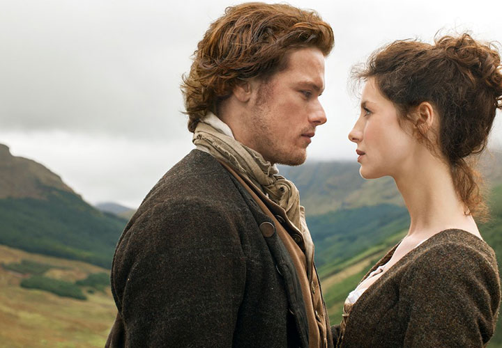 Outlander series románticas Netflix
