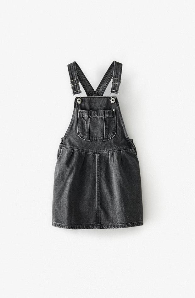 Pichi denim Zara Kids novedades primavera