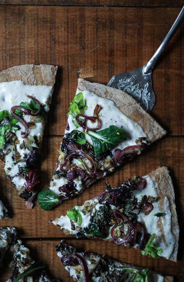 pizza recetas veganas deliciosas