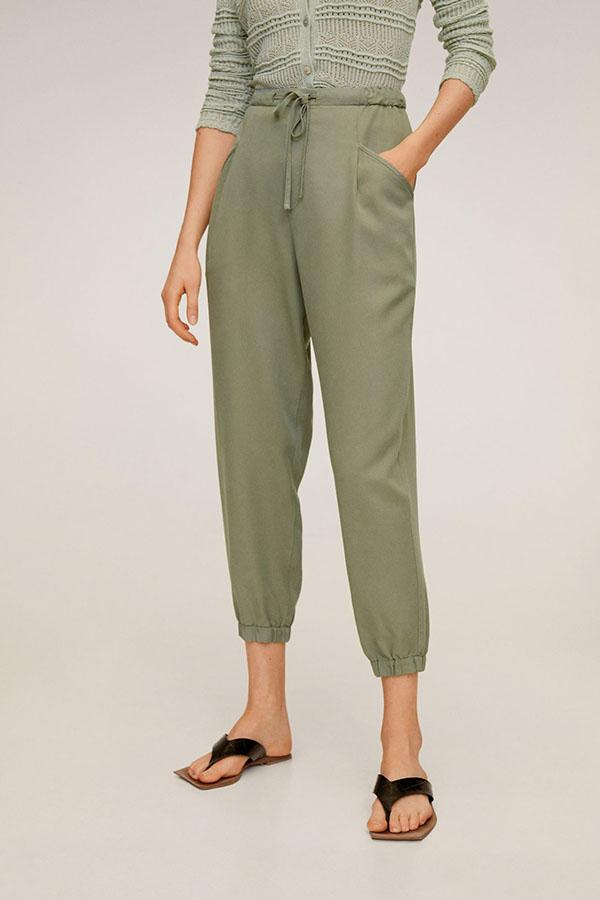 Pantalón de Mango verde