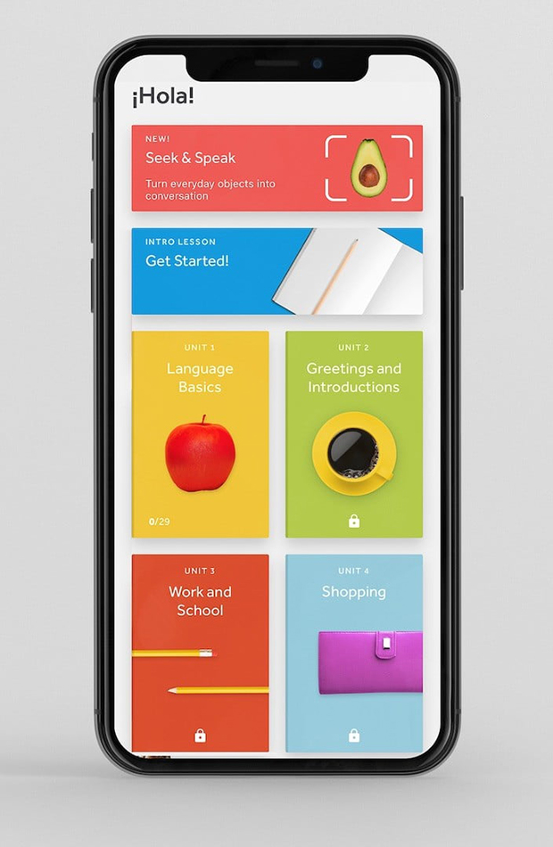 apps para aprender idiomas Rosetta Stone