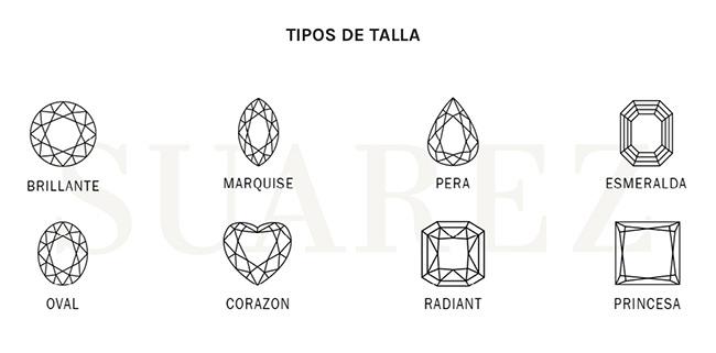 talla de los diamantes