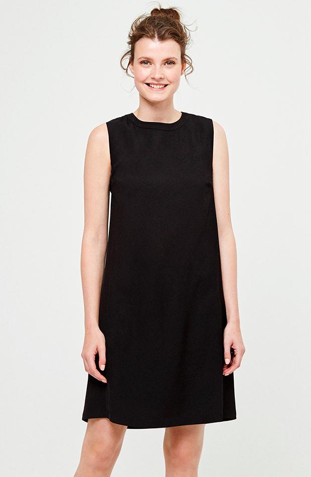 vestido liso sin mangas vestidos versatiles surkana