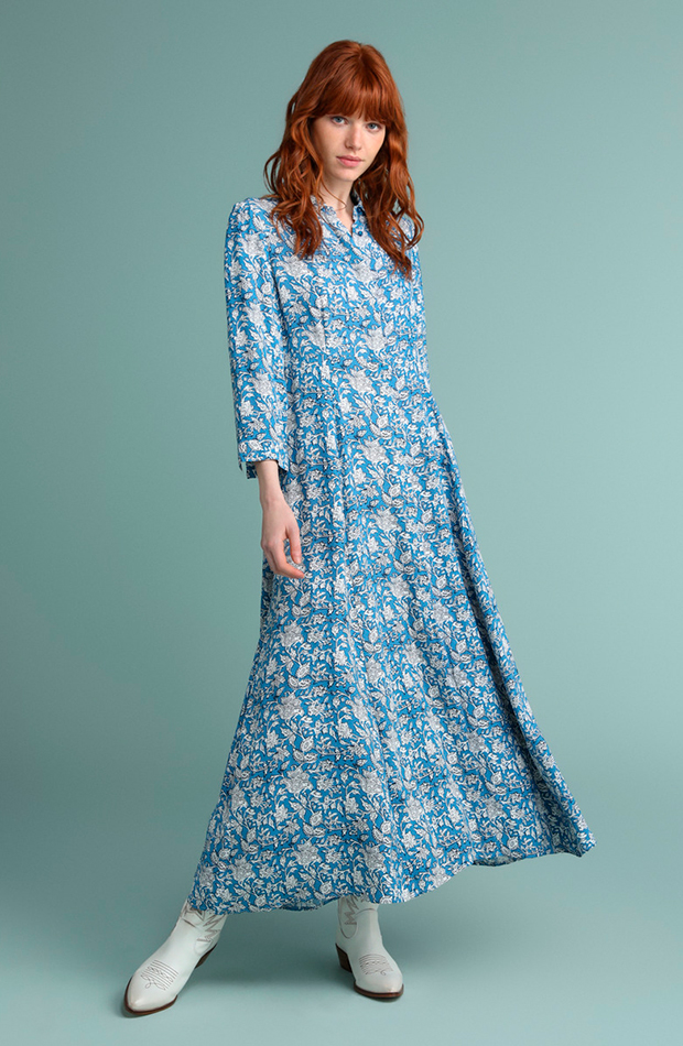 vestidos versátiles vestido camisero con manga larga tintoretto