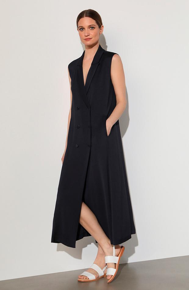 vestidos versátiles vestido camisero sin mangas woman el corte inglés