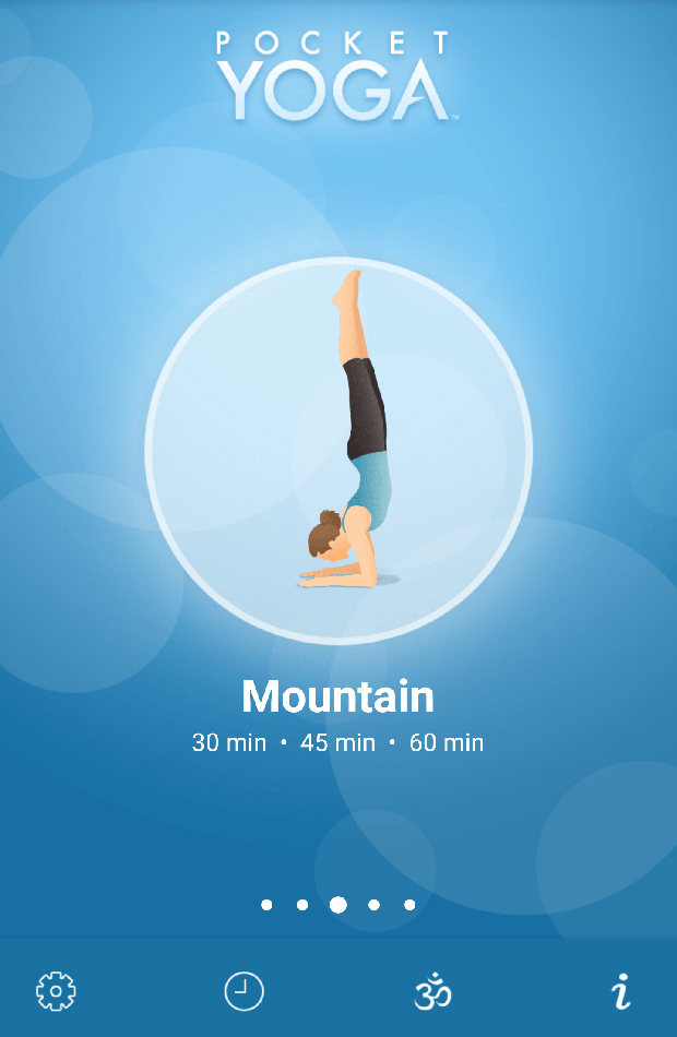 yoga pocket app