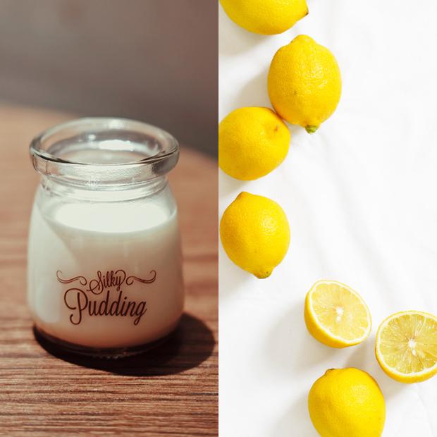 mascarillas capilares caseras Yogur con limón