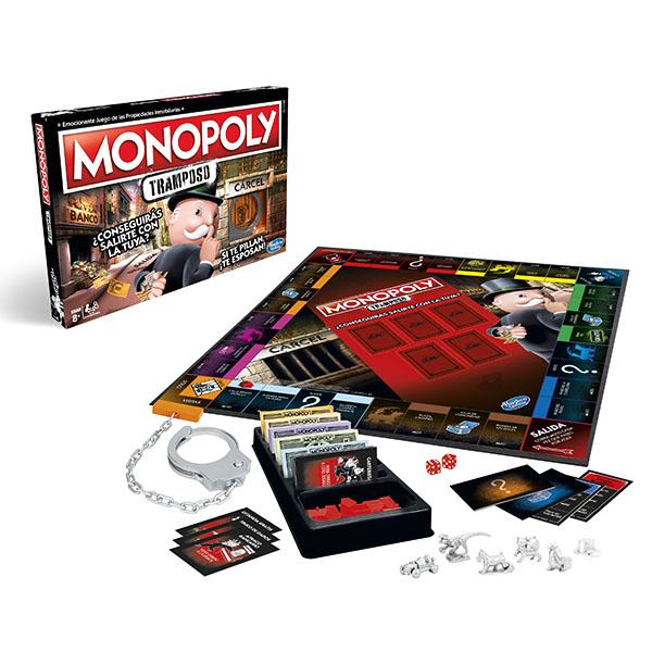 Juego de mesa Monopoly Tramposo