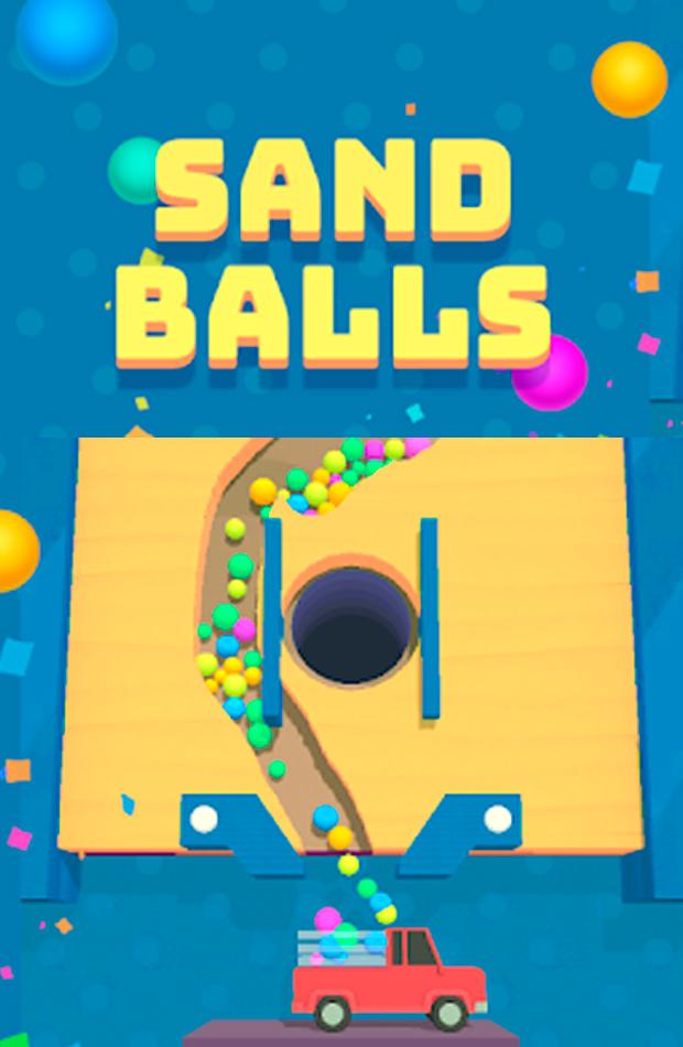 aplicaciones divertidas para la cuarentena sand balls