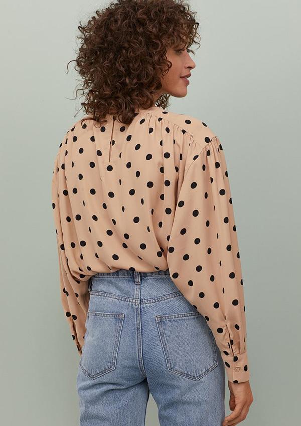 Blusa con mangas murciélago de H&M