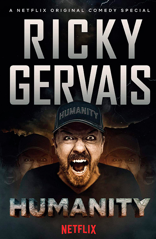 mejores monólogos Humanity - Ricky Gervais